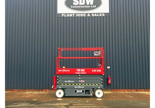 Another skyjack joins the fleet to keep up with hire demands!